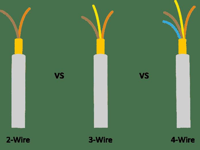 2 wire 3 wire 4 wire