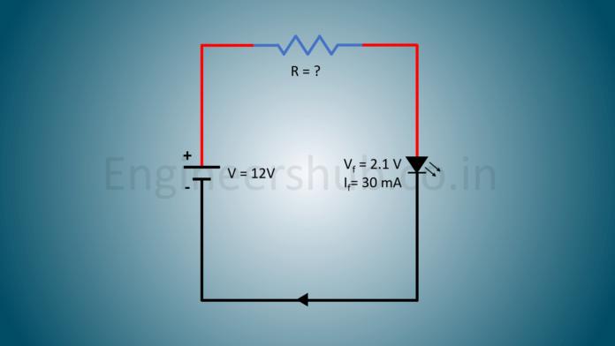 LED Series Resistor Calculator